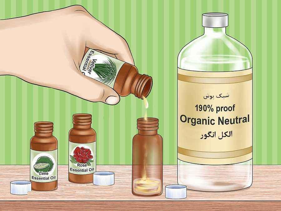 نحوه ساخت عطر