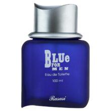 عطر ادکلن رصاصی بلو فور من-مردانه  Rasasi Blue حجم 100 میلی لیتر