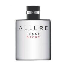 تستر اورجینال ادکلن شنل الور هوم اسپرت Chanlel Allure Homme Sport حجم 100 میلی لیتر